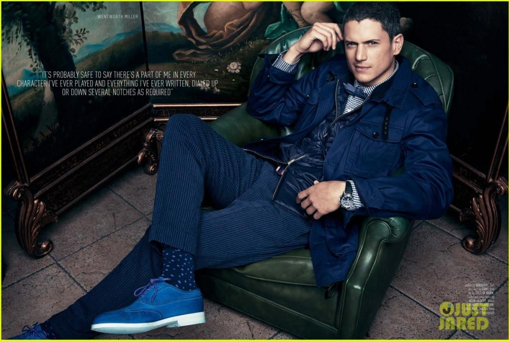 Wentworth Miller Net Worth, Age, Height, Wife, Profile, Movies