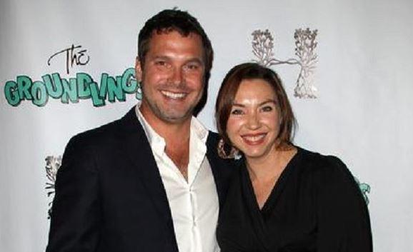 Stephanie Courtney With Husband